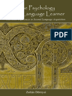 Dörnyei, Z. - The Psychology of the Language Learner