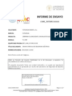 Certificado Inflamabilidad Ie Lsae Futur110101 Es 60598