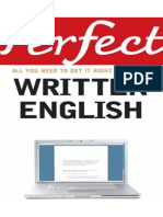 Perfect Written English All You Need to Get It Right First Time