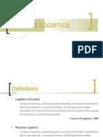 Ch 6 Reverse Logistics Presentation