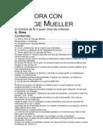George Muller Oracion