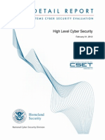 High Level Cyber Security Assessment - Detailed Report