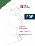 Bellas Artes - Nebrija - Analisis-Forma Y-cII