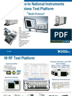 Introduction to National Instruments Wireless Test Platform