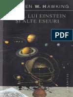 Steven Hawking - Visul Lui Einstein Si Alte Eseuri