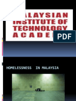 Homelessness in Malaysia