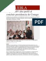 01-03-2014 Milenio.com - Logra RMV alto perfil al concluir presidencia de Conago.