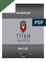 Titan Uranium