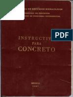 Instructivo Para Concreto Srh