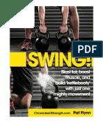 Chronicles of Strength Swing Primer