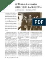 Gangui Y Ortiz - Albert Einstein Visita La Argentina 1925