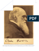Portrait With Signature Gifted by Charles Darwin to the Academia