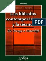 Esquirol, Josep - Los filósofos contemporáneos y la técnica