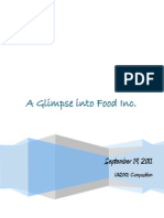 a glimpse into food inc -retanalysis