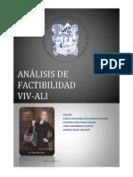 Analisis VIV ALI