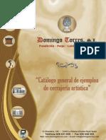 63566772 Catalogo Puertas y Cancelas de Domingo Torres s l
