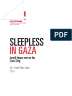 Sleepless in Gaza by Atef Abu Saif RLS Palestine