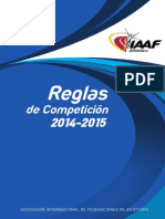 IAAF Competition Rules 2014-2015 (Español)