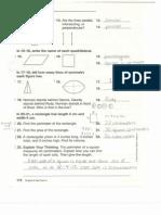 geometry test answer key 2