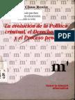 Claus Roxin, La Evolucion de La Politica Criminal