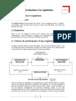 02. Introduction à la régulation