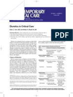 Diuretics in Critical Care