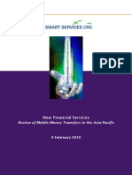 New Financial Services Review of Mobile Money Transfers in the Asia Pacific February2010