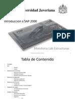 Introduccion a Sap 2000