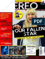 Music Magazine Front Cover #2
