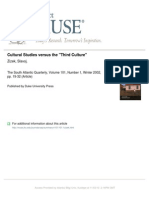 Zizek Cultural Studies versus the ''Third Culture''