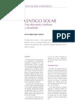 Lentigo Solar