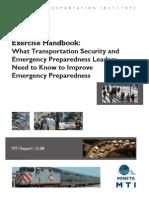 Free Security Emergency Preparedness Handbook For Transit Agencies