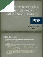 Emergency Medicine Project by Madhu Sreeja Hari