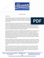 Freeman education letter