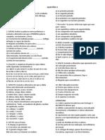 QUESTÕES 1 - gramática e literatura