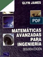 Metmaticas Avanzadas Para Ingenieria Glyn James
