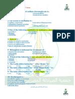 Prometric Pharmacy MCQs (Solved)(1)