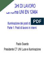UNI EN 12464-1 Illuminazione Luoghi Di Lavoro
