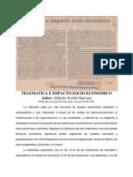 04 Telemática e Impacto socioeconómico EU 08-09-93