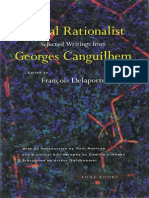 GeorgesCanguilhem a Vital Rationalist Selected Writings1994