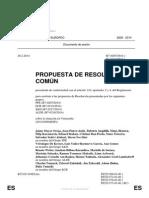 Resolución del Parlamento Europeo sobre Venezuela-comun
