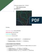 Taller estación de cauce (hidrología)