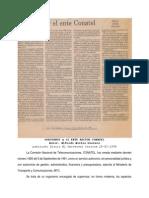 14 Gobiernos Ente Rector Conatel Pub EU CCS 18-02-94