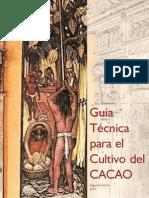 Fedecacao (2007) Guía técnica para el cultivo del cacao, 2ª ed.