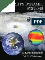 Earth's Dynamic Systems. Hamblin W.K and Christiansen E.H.