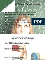 adolescent career development
