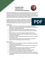 ISS PAL Position Description 2014
