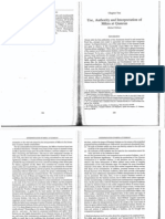 Fishbane, Use, Authority and Interpretation of Mikra at Qumran.