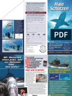 Sea Shepherd Shark Brochure German