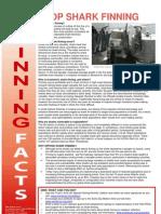 Stop Shark Finning Campaign Factsheet